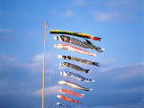 Carp Banners on 5th of May, Japan Photographic Print