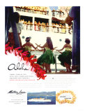 Aloha, Matson Lurline Giclee Print