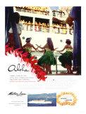 Aloha, Matson Lurline Giclee Print