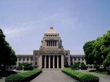 Parliament Building (Kokkai Gijido), Nagata Cho, Tokyo, Japan Photographic Print