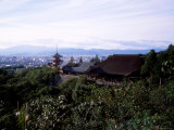 Kiyomizu Temple and City View Photographic Print