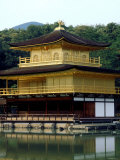 Kinkaku (Golden Pavillion) in the Garden of Rokuon-Ji Temple, Kyoto, Japan Photographic Print