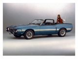 1969 Shelby GT 500 Giclee Print