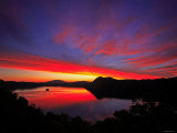 Lake Mashu in Dawn Photographic Print