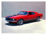 1970 Ford Mustang Mach 1 Giclee Print