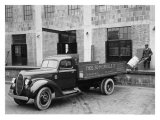 1939 Ford V8 Express Body Truck Impression giclée