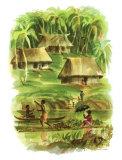 Fiji Giclee Print by Louis Macouillard