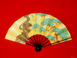 Fan for Traditional Dance Photographic Print