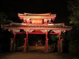 Shureimon by Night Photographic Print