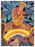 Luau Giclee Print by Frank Mcintosh