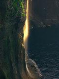 Water Falls at Sunset Photographic Print