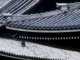 Tiled Rooves of Higashi Honganji Temple Photographic Print