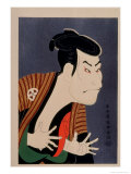 Kabuki Actor Giclee Print by Sharaku Toshusai
