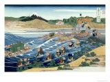 36 Views of Mount Fuji, no. 45: From Kanaya on the Tokaido Giclee Print by Katsushika Hokusai