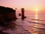 Sunrise of the Sea Coast Photographic Print