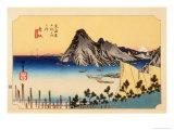The 53 Stations of the Tokaido, Station 30: Maisaka-juku, Shizuoka Prefecture Giclee Print by Ando Hiroshige