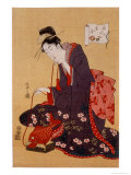 Beauty Giclee Print by Eishi Chobunsai