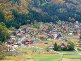 Shirakawago Village Photographic Print