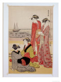 Minami Juuni-Kou Giclee Print by Torii Kiyonaga