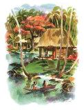 Samoa Giclee Print by Louis Macouillard