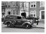 1939 Ford V8 Panel Delivery Truck Impression giclée