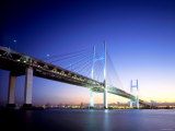 Yokohama Bay Bridge Photographic Print