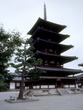 Pagoda of Horyuji Temple Photographic Print