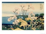 36 Views of Mount Fuji, no. 39: Tokaido Shinagawa Giclee Print by Katsushika Hokusai