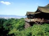 Kiyomizu Temple (Kiyomizudera), One of the Most Famous Tourist Spots in Kyoto, Japan Photographic Print