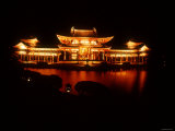 Byodoin Temple by Night Photographic Print