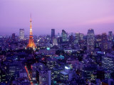 Night View of Tokyo Tower Photographie
