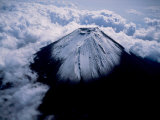 Aerial View of Mt. Fuji Photographic Print