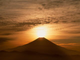 Sunrise Over Mt. Fuji Photographie