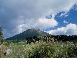 Mt. Daisen in Autumn Photographic Print