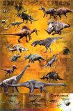 Dinosaurussen Print