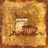 Cherish Coffee Art by Tara Reed