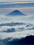 Mt. Fuji Over the Clouds Photographic Print