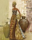Safari Fashions II Poster von Julia Hawkins