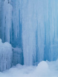 Frozen Waterfalls Photographic Print