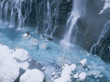 Waterfalls in Winter Photographic Print
