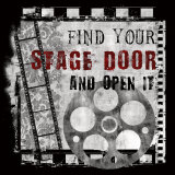 Stage Door Mounted Print by Conrad Knutsen