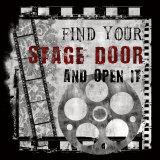 Stage Door Mounted Print by Conrad Knutsen