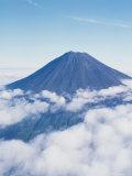 Aerial View of Mt. Fuji Photographic Print