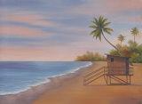 Tropical Beach II Poster by Vivien Rhyan