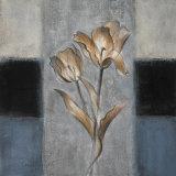 Tulips in Blue II Prints by Lanie Loreth