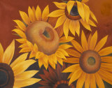 Sunflowers I Posters by Vivien Rhyan