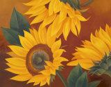Sunflowers II Plakater av Vivien Rhyan