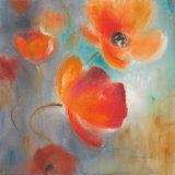 Scarlet Poppies in Bloom I Prints by Lanie Loreth
