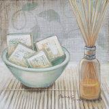 Salle de bain relaxanteII Affiches par  Hakimipour-ritter