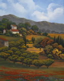 Italian Countryside I Prints by Vivien Rhyan